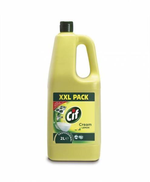 Johnson Diversey Cif Prof Cream Lemon 2l