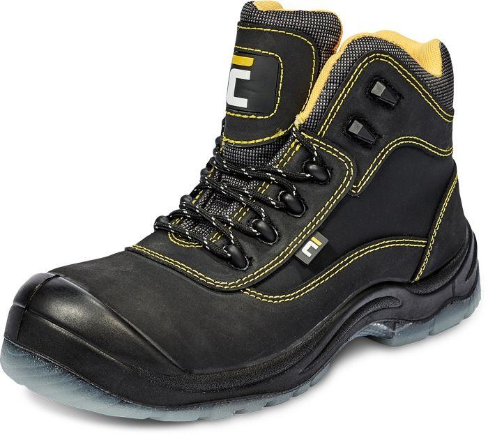 Cerva Black Knight TPU MF S3 Ankle Munkavédelmi Bakancs