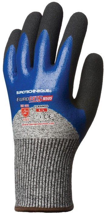 Eurotechnique Eurocut 5 N505 Vágásbiztos Védőkesztyű