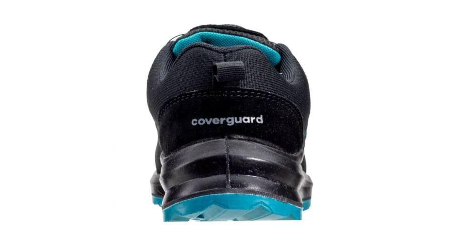 Coverguard Onyx S1P SRC ESD Fekete Kompozit Textil Félcipő
